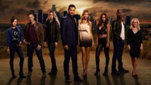 Netflix series Lucifer - the cast